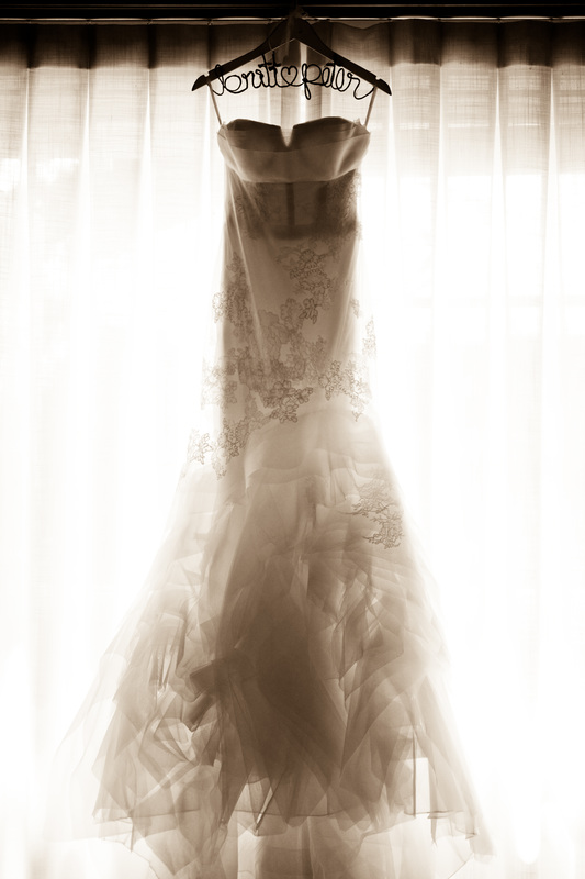 Wedding Dress by Vera Wang, Rosemary Events Wedding Planner, Photo by Abby Ross