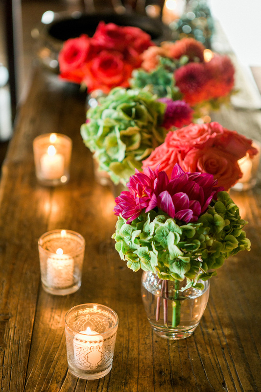 Florals by Sillapere in the San Ysidro Stonehouse - www.rosemaryevents.com