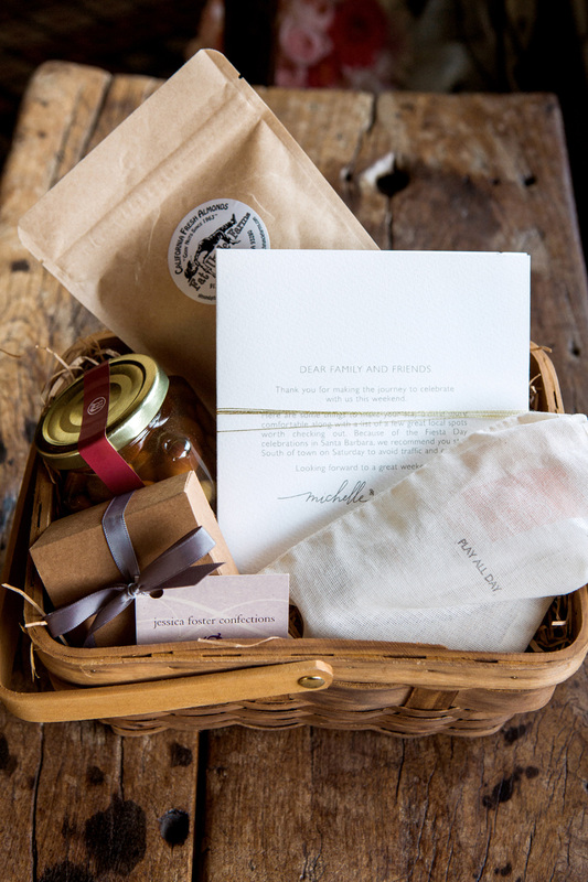 Gift basket by Sillapere - Wedding Planner Rosemary Events