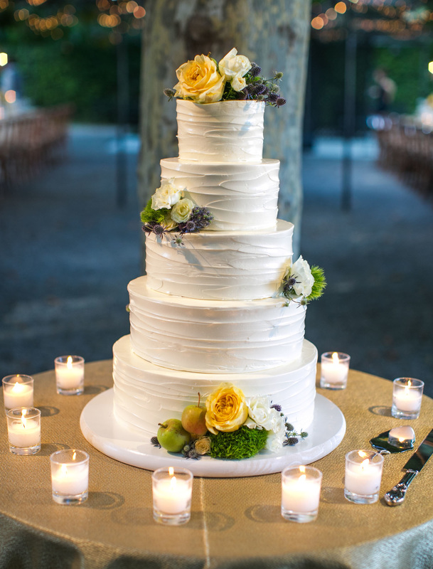 5 tier wedding cake, www.rosemaryevents.com, Sweet on Cake,  Florals by Sillapere, Samuel Lippke Photo