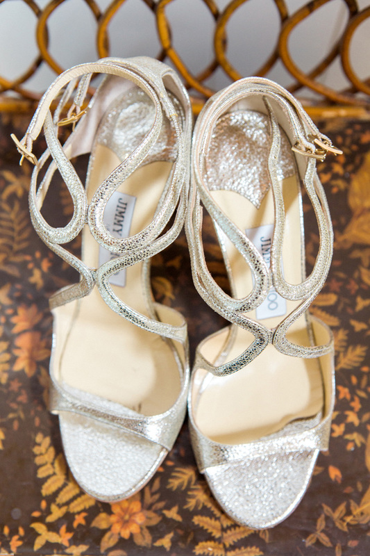 Jimmy Choo wedding shoes - www.rosemaryevents.com