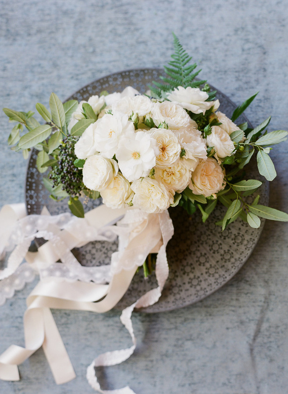 Bouquet by Flowerwild, Rosemary Events wedding w/ Corbin Gurkin Photography