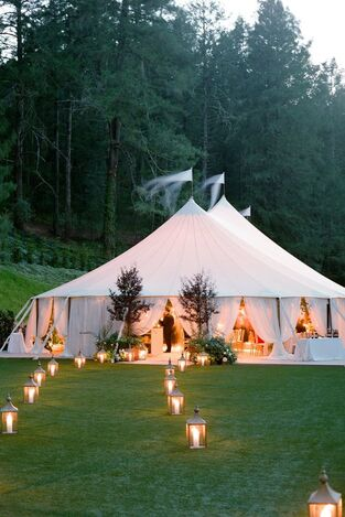 Wedding Tent by Rosemary Events and Mindy Rice Design. Photo by Jose Villa